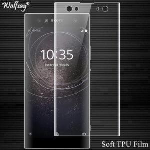 گلس نانو پوشش منحنی تمام چسب سونی Wolfsay Screen Protector Nano Glass | XA2 Ultra