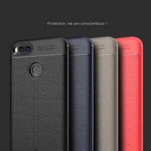 قاب محکم طرح چرم شیائومی AutoFocus leather case Xiaomi mi A1 | mi 5x