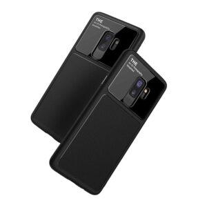 قاب محکم سیلیکونی گوشی Bakeey silicone Lens glass Case | Galaxy S9