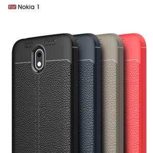 قاب محکم طرح چرم گوشی نوکیا Auto Focus Leather case | Nokia 1