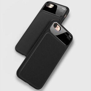 قاب محکم سیلیکونی گوشی Bakeey silicone Lens glass Case | iphone 8
