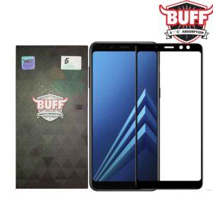 محافظ صفحه نمایش تمام چسب فول کاور BUFF Nano full glass | Galaxy A8 2018