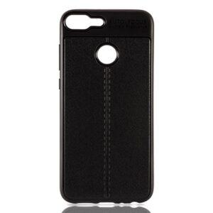 قاب محکم طرح چرم گوشی آنر AutoFocus leather case | Honor 9 Lite