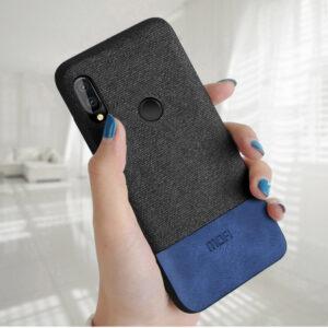 قاب طرح کتان گوشی هواوی MOFI Soft TPU Cotton Case P20 Lite | Nova 3e