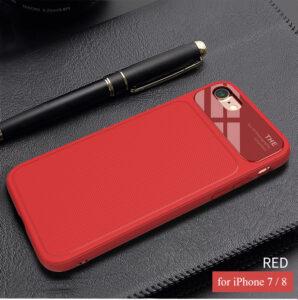 قاب محافظ سیلیکونی گوشی آیفون Bakeey silicone Lens glass Case | iphone 7