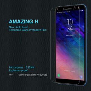 محافظ صفحه نمایش سامسونگ Remax tempered Screen Protector | Galaxy A6 2018