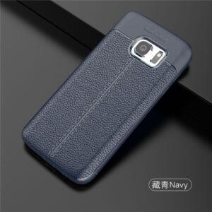 قاب محکم طرح چرم گوشی سامسونگ Auto Focus Leather case | Galaxy S7