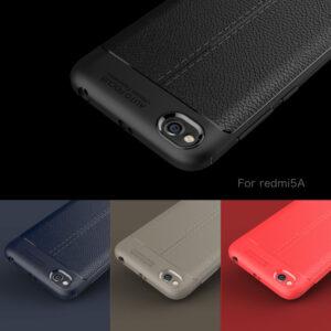 قاب محکم طرح چرم گوشی شیائومی Auto Focus Leather case | Xiaomi Redmi 5a