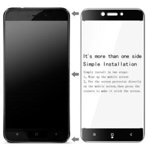 محافظ صفحه نمایش رنگی نانو تمام چسب شیائومی BUFF Nano full glass | Redmi Note 4x