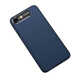 قاب محافظ اتو فوکوس Auto Focus Metal Brush Camera Case | iphone 8