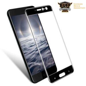 محافظ صفحه نانو تمام چسب منحنی BUFF Nano Full Glass | HTC U11