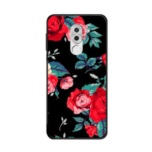 قاب طرح گل آنر Lack TPU Flower Case | Honor 6x
