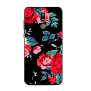 قاب گوشی طرح گل هواوی Lack Flower Case | Mate 10 Lite