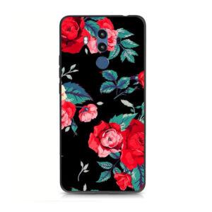 قاب محافظ طرح گل هواوی Lack TPU Flower Case | Mate 10 Pro