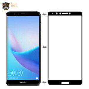 محافظ تمام چسب هواوی BUFF Nano Glass Huawei Y9 2018   Enjoy 8 Plus