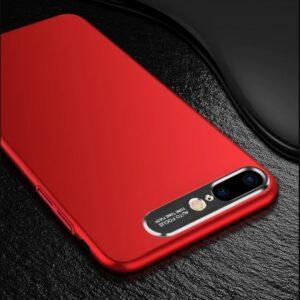 قاب محافظ فلزی اپل Auto Focus Metal Brush Camera Case | iphone 8 Plus