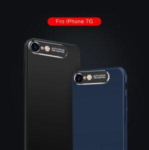 قاب محافظ فلزی اپل Auto Focus Metal Brush Camera Case | iphone 7