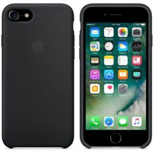 قاب سیلیکونی اوریجینال آیفون Original Silicone Cover | iphone 8