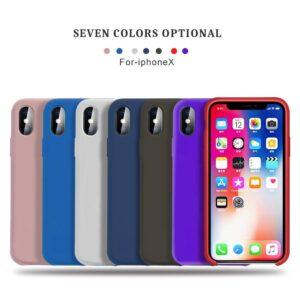 قاب محافظ سیلیکونی اوریجینال Original Silicone Cover | iphone X
