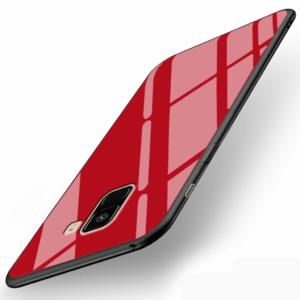 قاب محافظ پشت گلس سامسونگ Makavo case | Galaxy A8 2018