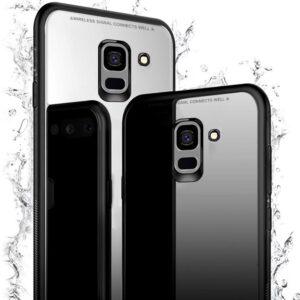قاب پشت گلس سامسونگ Makavo case | Galaxy A8 Plus 2018