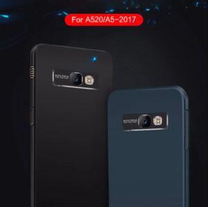 قاب محافظ سامسونگ Auto Focus Metal Brush Camera Case | Galaxy A5 2017