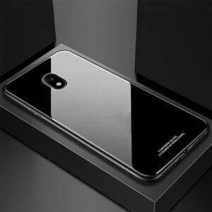 قاب پشت گلس سامسونگ Makavo Glass case | Galaxy j7 Pro