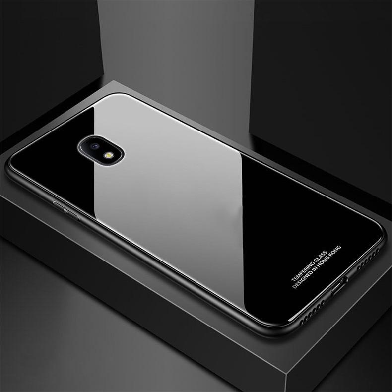 قاب پشت گلس سامسونگ Makavo Glass case | Galaxy j7 Pro |