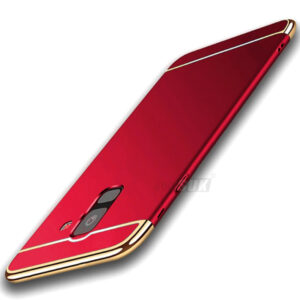 قاب محافظ سه تیکه سامسونگ ipaky Luxury 3in1 Case | Galaxy j6 2018