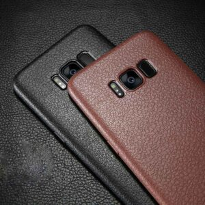 قاب چرمی سامسونگ Baseus Thin Leather Skin Case | Galaxy S8