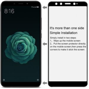 محافظ نانو تمام چسب منحنی IMAK Nano Full Glass Xiaomi Mi 6x | Mi A2