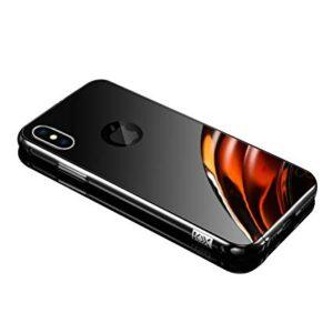 قاب آینه ای دو تیکه اپل Aluminium Mirror Case | iphone XS