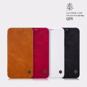 کیف چرمی نیلکین اپل Nillkin Qin Series Wallet Cover | iphone XS Max