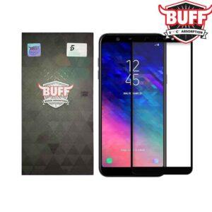 محافظ تمام چسب سامسونگ BUFF 5D Full Glass | Galaxy A6 2018