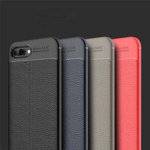 قاب محافظ هواوی Auto Focus Leather case | Huawei Y6 2018