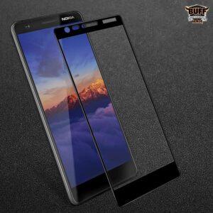 محافظ صفحه نانو تمام چسب نوکیا BUFF Full Glass | Nokia 3.1