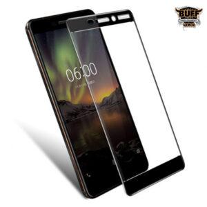 محافظ نانو تمام چسب نوکیا BUFF Full Glass Nokia 6 2018 | Nokia 6.1