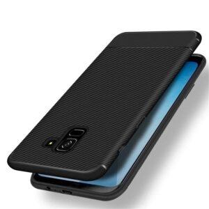 قاب فیبر کربنی سامسونگ Remax Fiber Carbon Case | Galaxy A6 2018