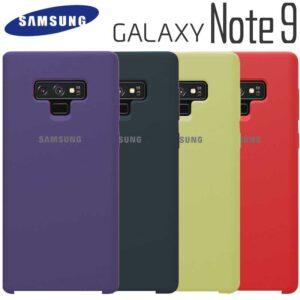 قاب محافظ سیلیکونی سامسونگ Original Silicone Cover | Galaxy Note 9