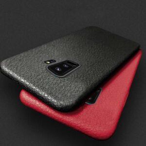قاب محافظ ژله ای سامسونگ Baseus Thin Leather Soft Case | Galaxy S9