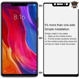 محافظ تمام چسب شیائومی BUFF Nano Glass | Xiaomi Mi 8 SE