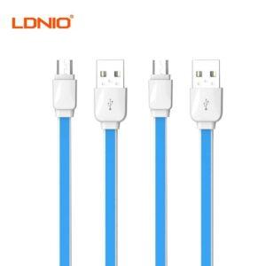 کابل فست شارژ و فست دیتا تایپ سی LDNIO LS-XS-07C Fast Data Cable 1m
