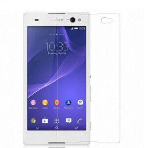 محافظ صفحه نمایش گوشی سونی JMC Tempered Glass | SONY C3