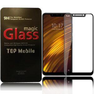 محافظ صفحه تمام چسب شیائومی Film Full Glass Xiaomi Poco F1 | Pocophone F1