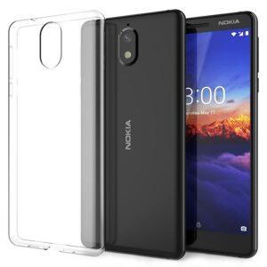 قاب محافظ ژله ای شفاف USAMS Transparent Case | Nokia 3.1