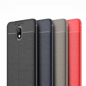 قاب محافظ اتو فوکوس نوکیا Auto Focus Leather Case | Nokia 3.1