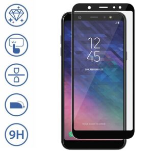 محافظ صفحه تمام چسب سامسونگ Elk Full Glass | Galaxy A6 Plus 2018