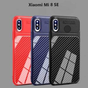 قاب محافظ شیائومی Auto Focus Fiber Carbon Case Xiaomi | Mi 8 SE