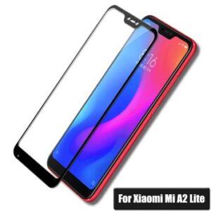 محافظ صفحه تمام چسب شیائومی Mi Full Glass Xiaomi Mi A2 Lite   Redmi 6 Pro
