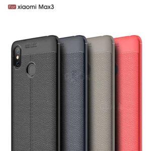 قاب محافظ شیائومی Auto Focus Leather Texture Cover | Xiaomi Mi Max 3